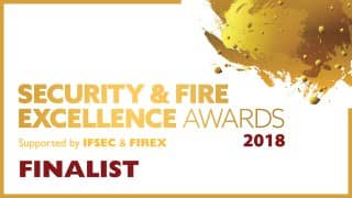 Nominated for Security Excellence Awards 2018