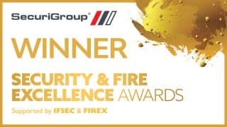Winners at the Security Excellence Awards 2018