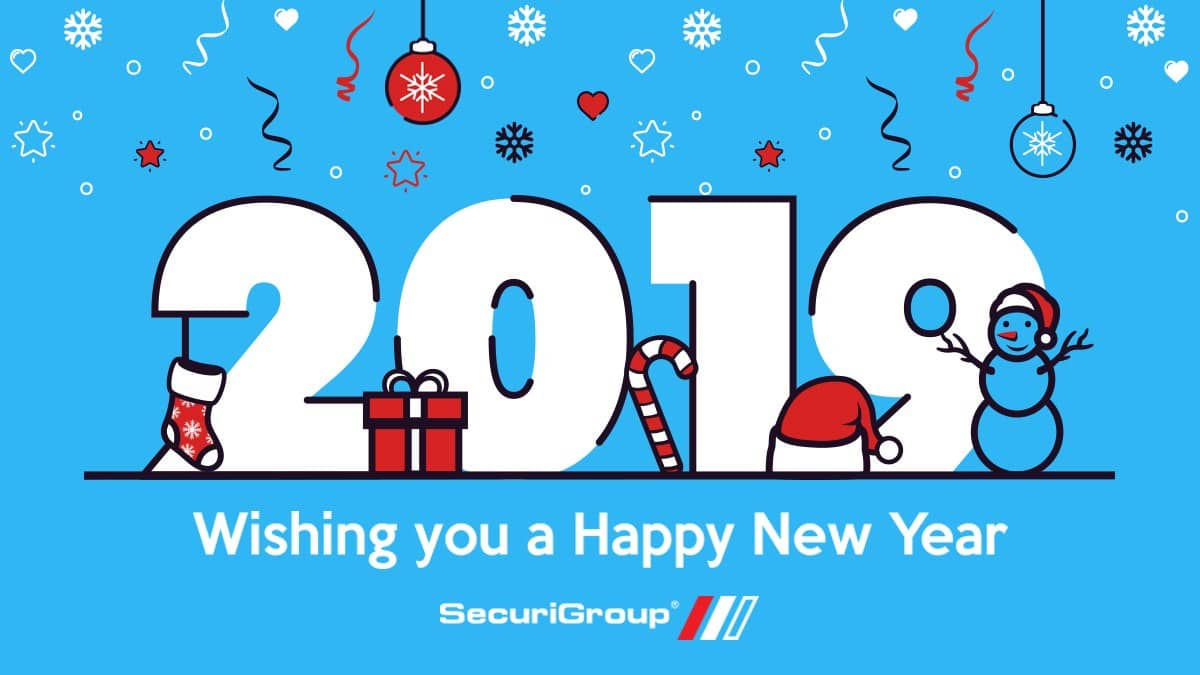 Happy New Year 2019 from SecuriGroup
