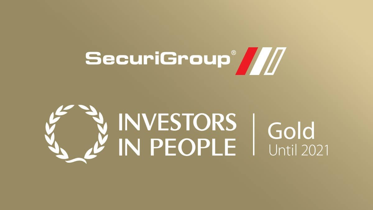 SecuriGroup Awarded Investors in People Gold