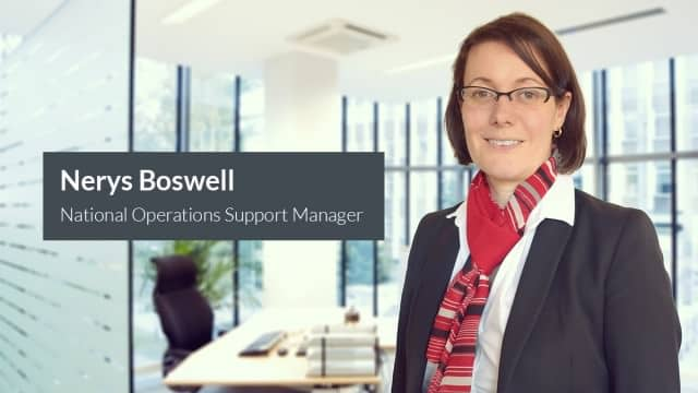 Nerys Boswell Appointed as National Operations Support Manager