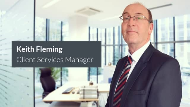 Keith Fleming Appointed as Client Services Manager