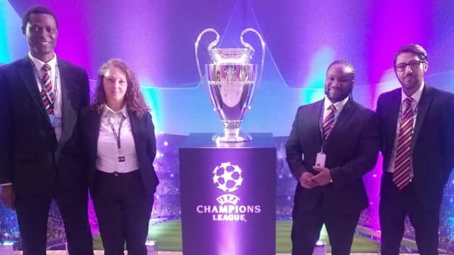Celebrating the Champions League with Expedia