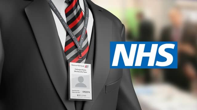 NHS Warning: Remove Your Lanyard Before Driving