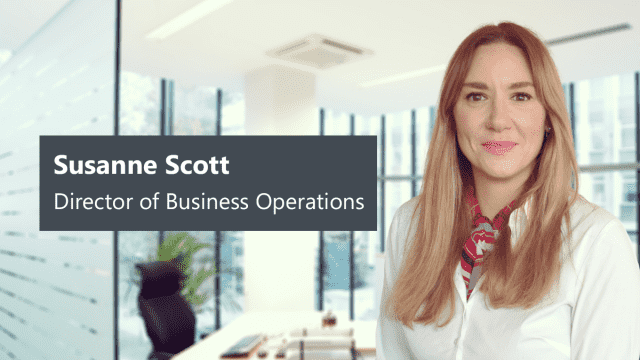 Susanne Scott Promoted to Director of Business Operations