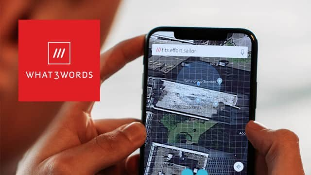 Emergency Services Recommend 'What 3 Words' App