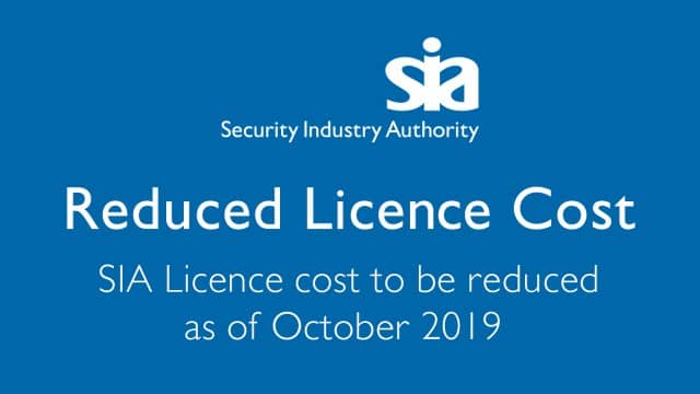 SIA Reduces Licence Fee