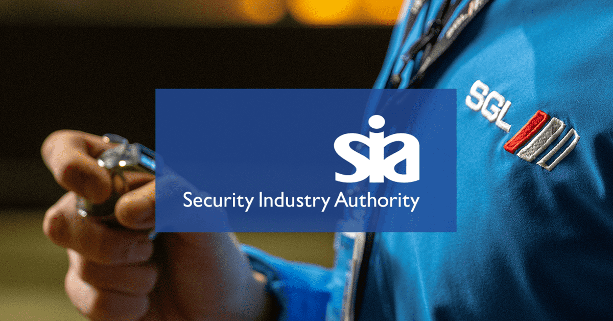 SIA (Security Industry Authority) Training