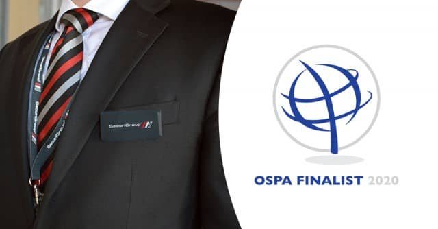 3 Security OSPA Award Nominations for SecuriGroup