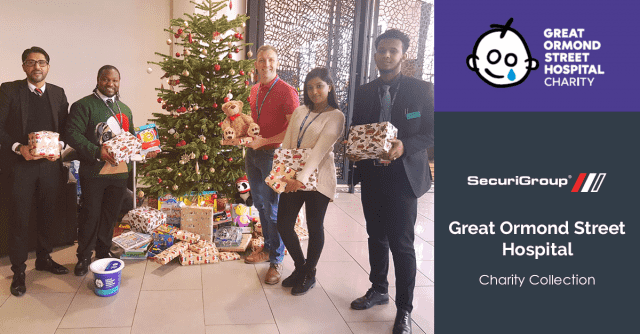 Christmas Donation for Great Ormond Street Hospital