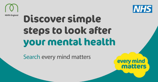 Supporting NHS 'Every Mind Matters'