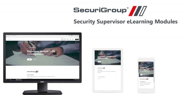 SecuriGroup Launches New Supervisor E-Learning
