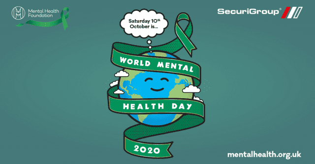 SecuriGroup supports World Mental Health Day 2020 with 'Tea & Talk'