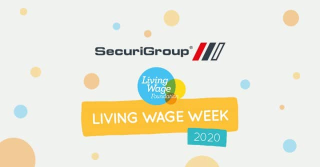 SecuriGroup Marks Living Wage Week 2020