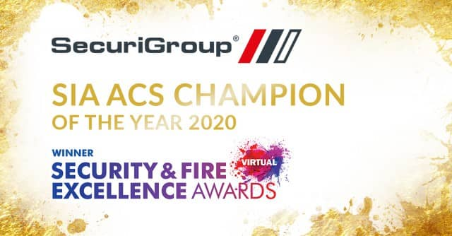 SecuriGroup Wins Second ACS Champion of the Year Award