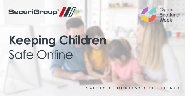 SecuriGroup's Cyber Week: Keeping Children Safe Online