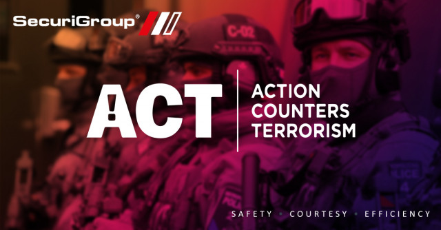 SecuriGroup Supports Action Counters Terrorism Vigilance Campaign
