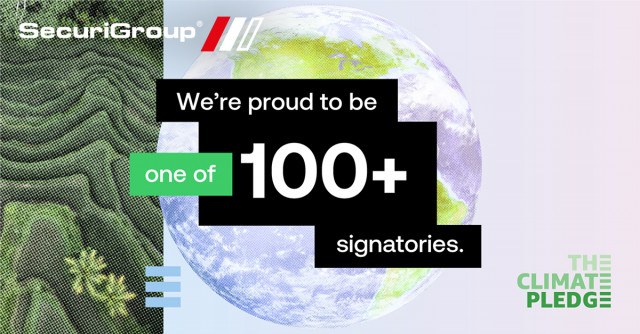 SecuriGroup Commits to The Climate Pledge