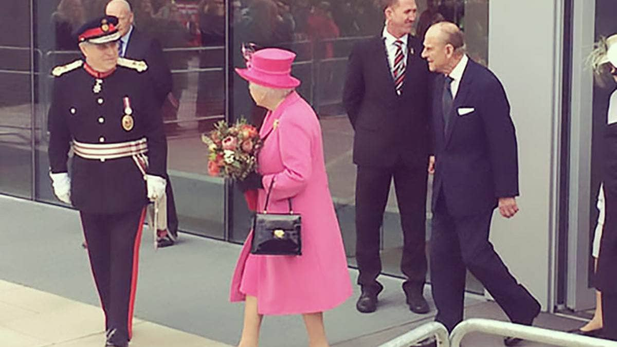 SecuriGroup Provide Security to Queen Elizabeth's Opening of Rambert