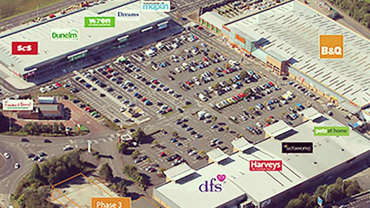 Retail Park Development with Workman